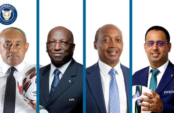 CAF : 4 candidats à la présidence de la CAF