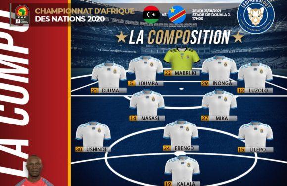 Voici la composition mise en place par Florent Ibenge pour le match contre la Libye!