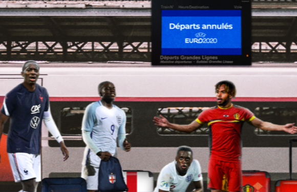 Euro 2020 : plusieurs joueurs restés à quai !